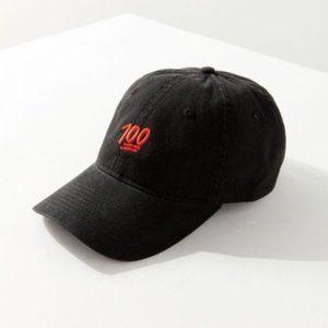 Urban Outfitters Emoji 100 Baseball Cap Dad Hat